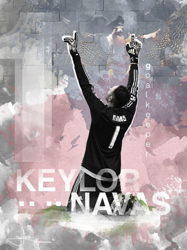 Keylor Navas 800px X 600px Adobe Photoshop