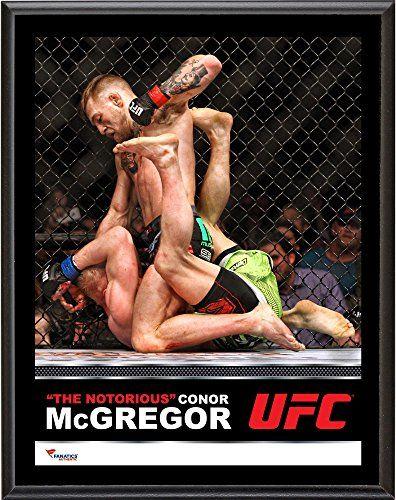 "Conor McGregor Ultimate Fighting Championship 10.5"" x 13"" Sublimated Plaque - Fanatics Authentic Certified"