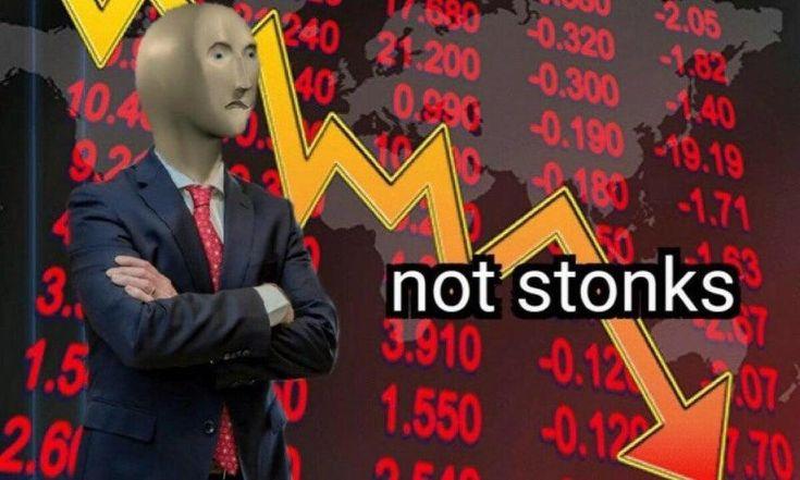Not stonks | Stonks | Funny memes, Stupid memes, Memes