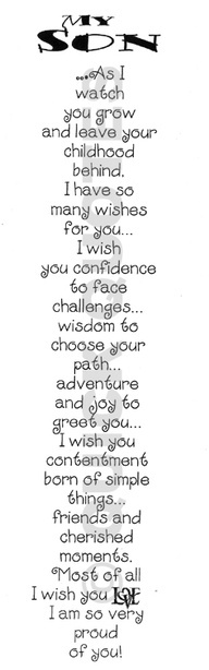 My wish(es) for you, Brendon, my baby boy..... My heart, my soul, my life!!!❤️