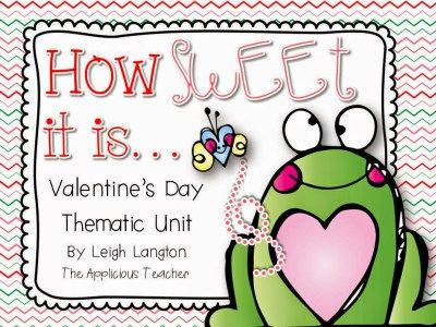 This Valentine's Day Literacy Unit focuses on incorporating literacy skills with a holiday flare! ELA, crafts, and more!