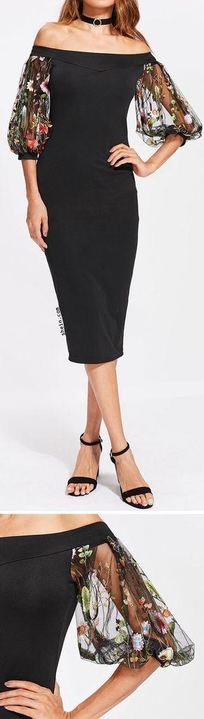 Elegant cocktail dress.