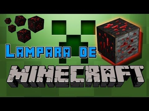 Lámpara de Minecraft casera - Minecraft in real life (Experimentos Caseros) - YouTube