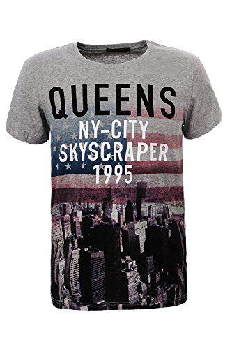 Glo-Story Men's US Flag Printed T-Shirt   #formen #clothing #fashion #fashiontshirt #flagprint #shortsleevetshirt #greytshirt