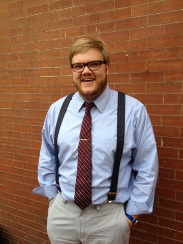 Male teacher fashion