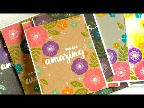 Distress Oxide Ink Stamping - Jennifer McGuire Ink