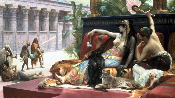 Did we know that Cleopatra was not actually Egyptian? She came from a long line of Greek Macedonians..