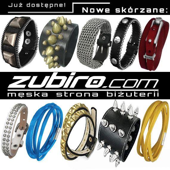 Nowe modele bransoletek już dostępne.  Kliknij  w link i zobacz wszystkie: http://zubiro.com/bransoletki_skorzane,5,0.html