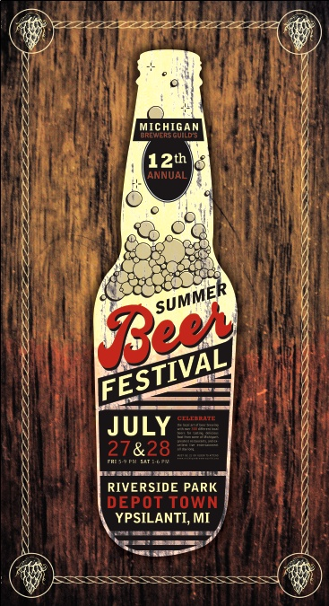 27 best event poster inspiration images on pinterest for Michigan craft beer festival