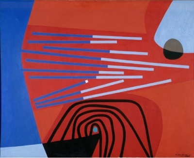 Enrico Prampolini, Animismo geometrico, 1952
