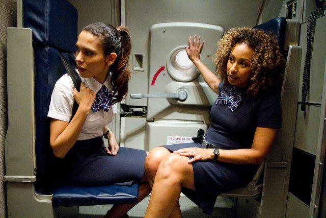 Still of Tamara Tunie and Nadine Velazquez in Flight