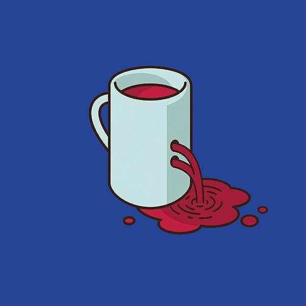 Hora de aventura- Jacob Parr. Superhéroes y personajes de la cultura pop que son tazas de café (Yosfot blog)