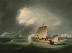 "Rescue of the ""Britannia"", Thomas Buttersworth"