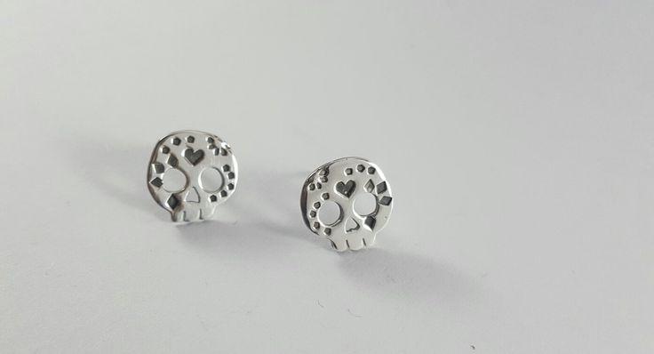 Mini Sugar skull studs, R150.00