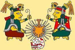 OMETÉOTL (Two God) | Aztec pair of god OMETECUHTLI & OMECÍHUTAL (also known as Tonacatecuhtli & Tonacacíhuatl)
