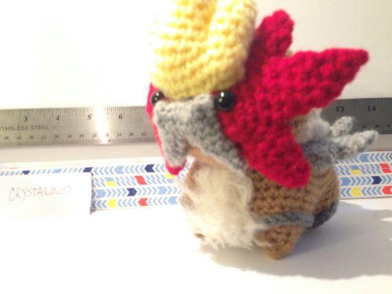 Crochet / Amigurumi Legendary Pokemon Entei by CrystaLings on Etsy