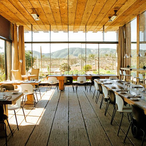 This is a beautiful restaurant in Baja Wine country. Would make an awesome home.