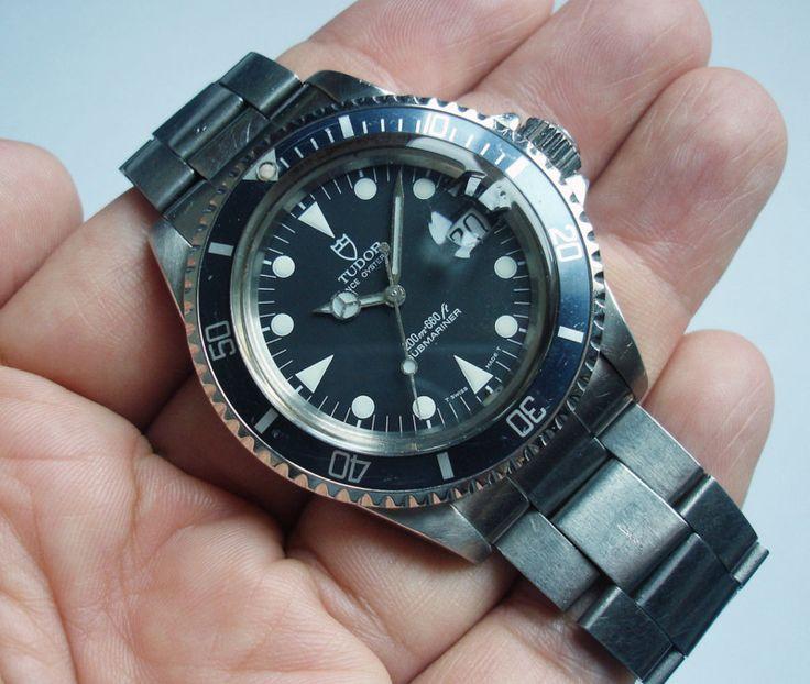 80s tudor prince oysterdate submariner 200m 660ft ref - Tudor dive watch ...