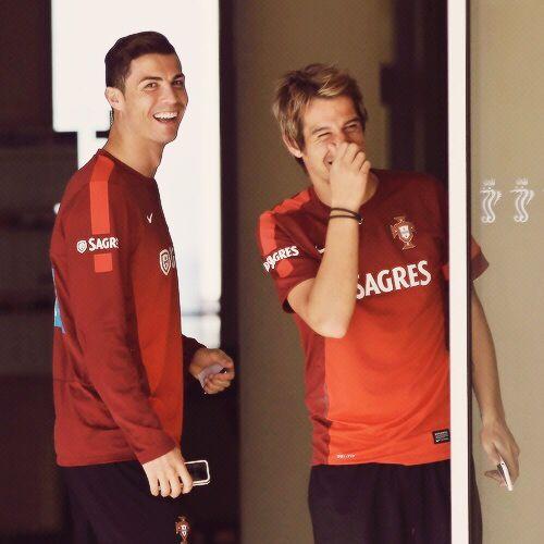 Cristiano Ronaldo & Fabio Coentrão