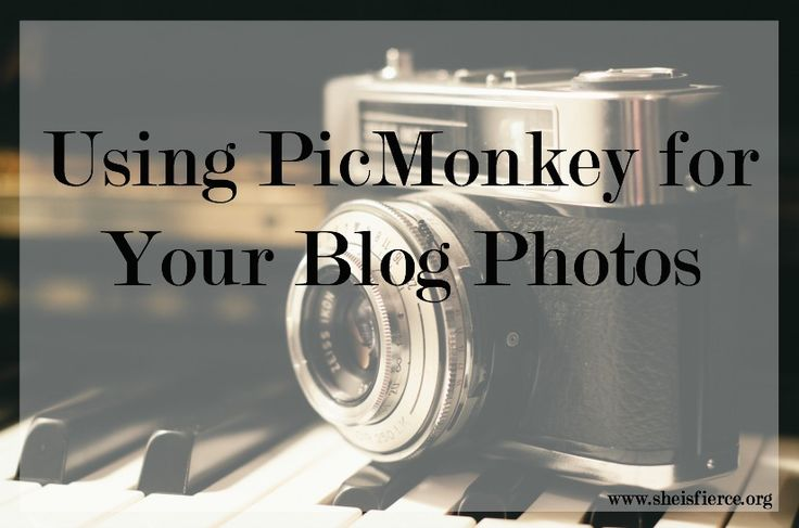 Love blogging, but not sure how to make your photos match up without Photoshop? Today I'm talking about a few ways you can use PicMonkey to edit your photos for blogging - and all for FREE #blogging #photography