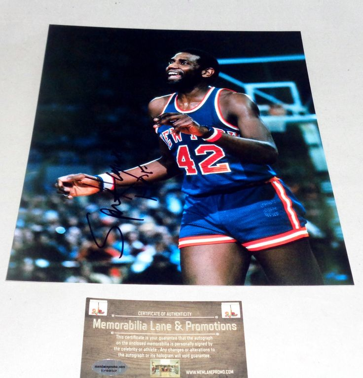 Spencer Haywood autograph 8x10 COA Memorabilia Lane & Promotions
