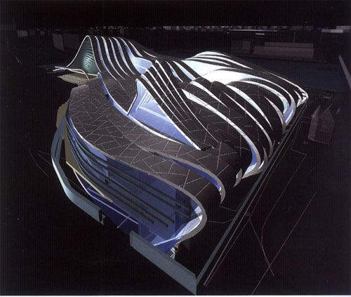 LA GRANDE MOSQUEE DE STRASBOURG ZAHA HADID (Compétition an 2000) [w-a.home.pl/official/all_files/userfiles/image/books/751-1000/0966_hadid_038.jpg]