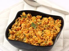Paneer bhurji, a delightfully spicy paneer dish that can be served as an accompaniment or side dish in Indian dinner, is simply irresistible.