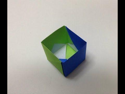 折り紙でゴミ箱を作ろう。【種類別】簡単にできる折り方紹介 | iemo[イエモ]
