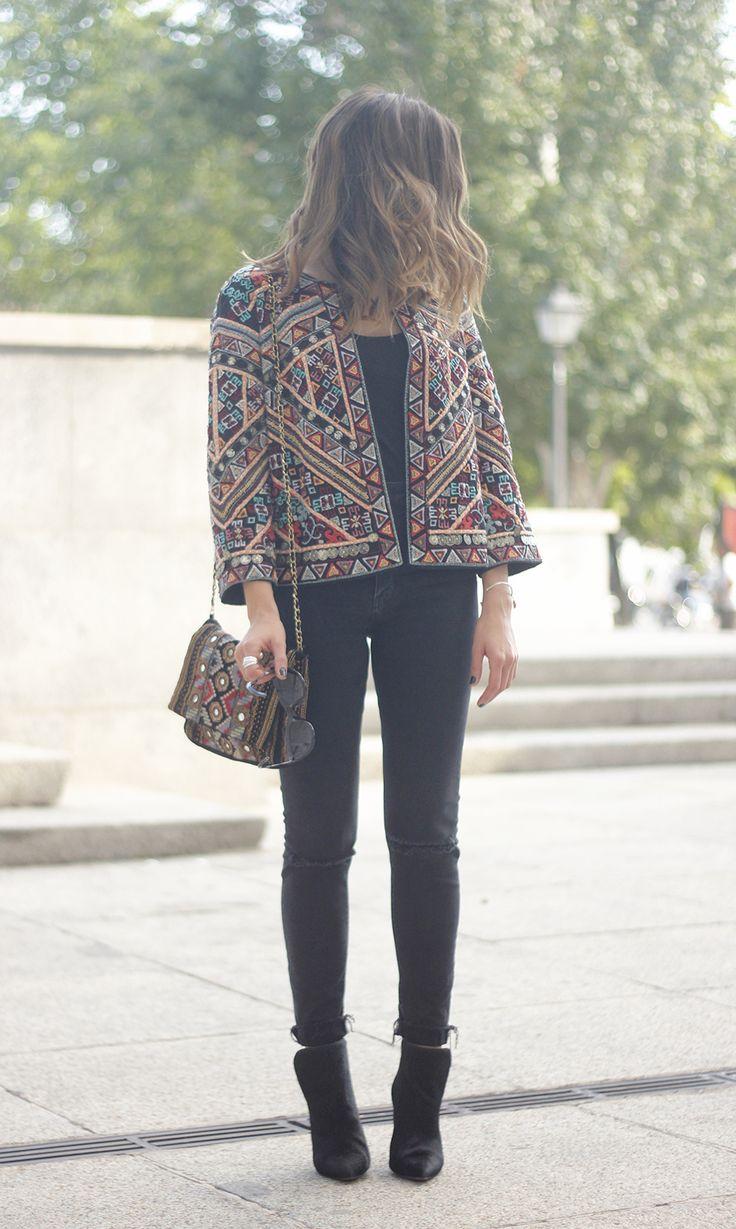 Jacket With Embroidery   BeSugarandSpice - Fashion Blog