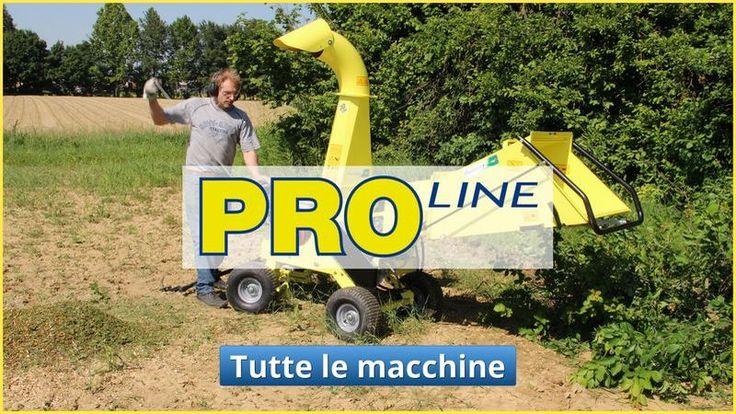 prodotti professionali linea proline Agrinova macchina agricoltura e giardinaggio