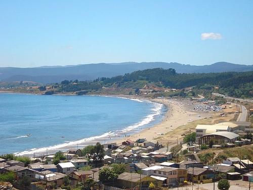 Playa Blanca Coronel, Chile