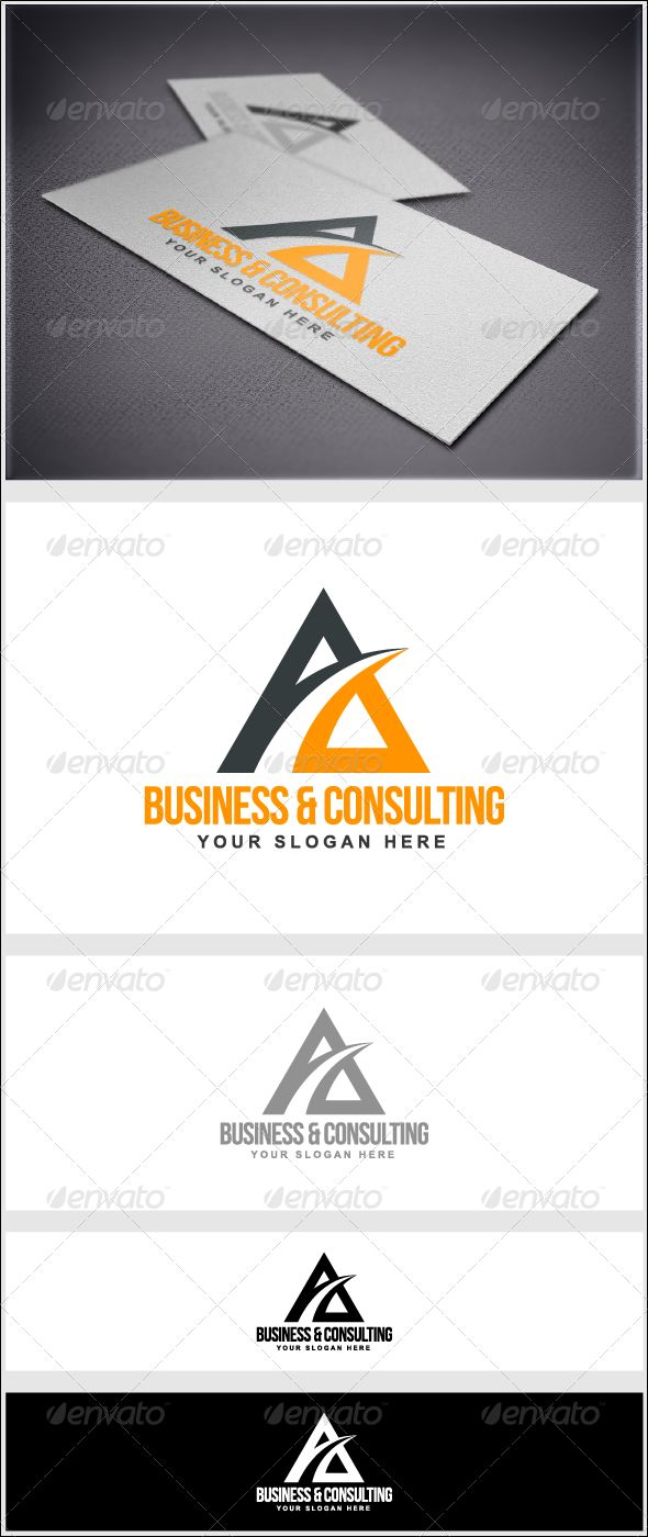 Business  Consulting - Letters Logo Templates