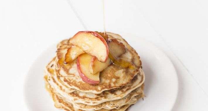 boekweitpannenkoek met appel