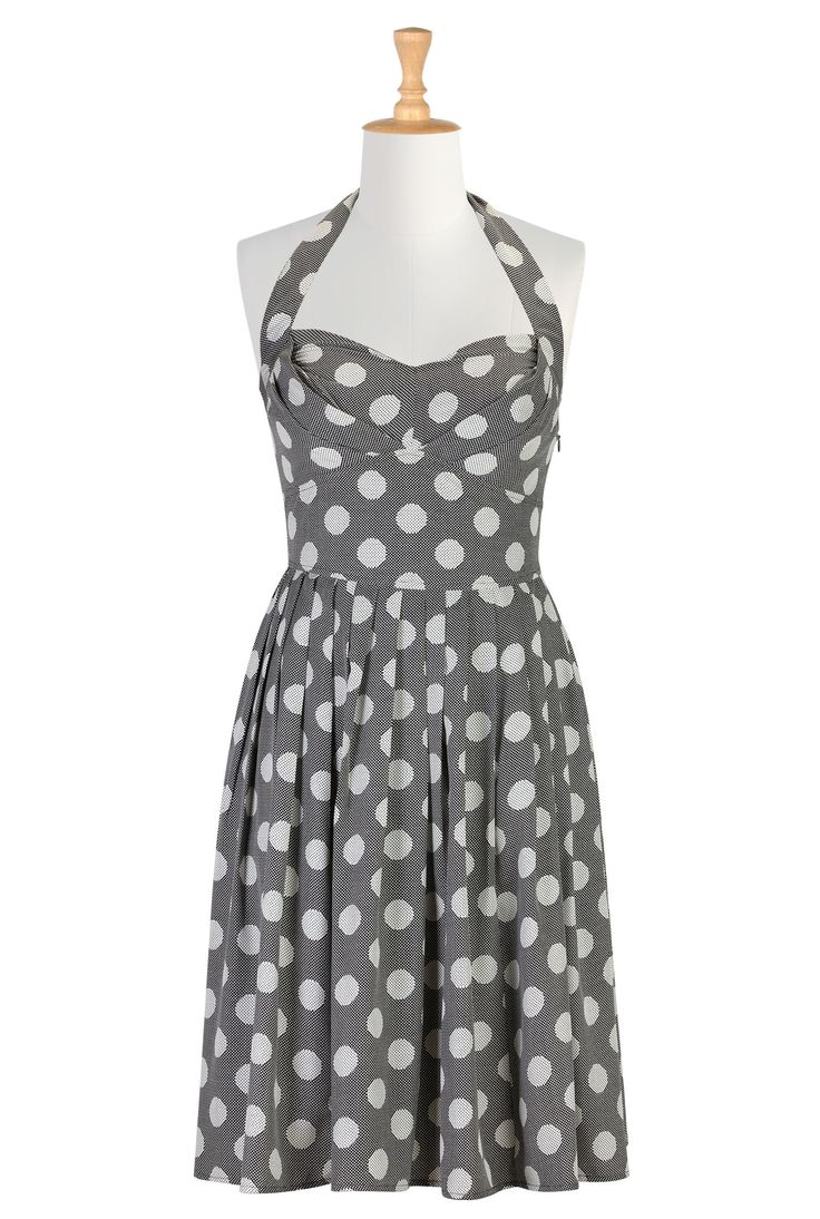 Black And White Dress  <3