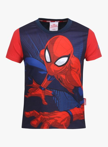 f2cf6100 Buy Marvel Spiderman Navy Blue T-Shirt for Kids Online India, Best Prices,  Reviews | MA156KA43BLRINDFAS