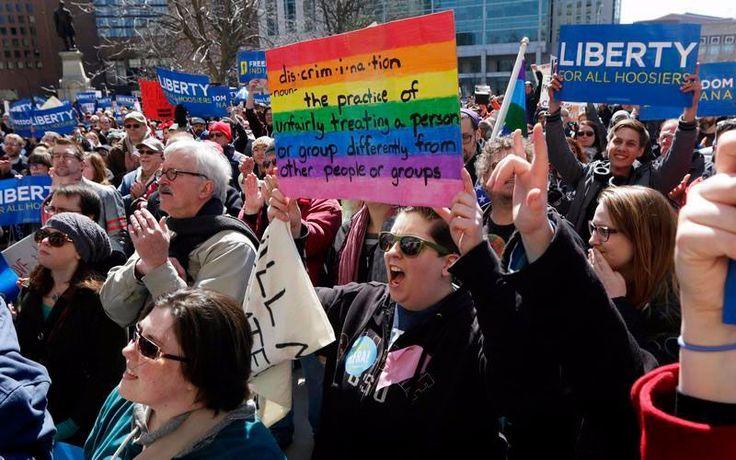 Las recientes modificaciones en las leyes de libertad religiosa en Indiana y Arkansas pone sobre la mesa el desfase generacional en los Estados Unidos.