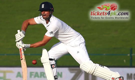 England captain Alastair Cook has confessed that he wants England to become first side to record a series win against Pakistan in their shifted home of United Arab Emirates. Sports lovers can enjoy Pakistan v England Cricket action live with Tickets4pk.com easily.