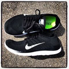 Nike Free 4.0 Flyknit. I would love to have these on my feet next.