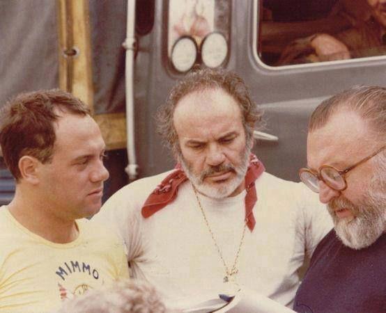 Carlo Verdone, Mario Brega, Sergio Leone
