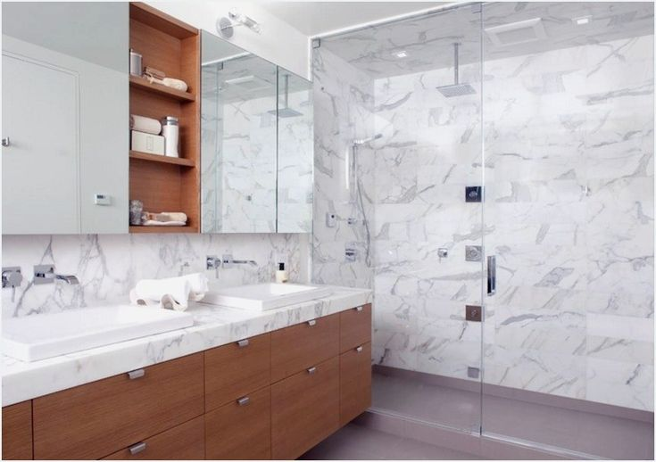 25 Modern Bathroom Ideas To Create A Clean Look | Since the bathroom is often thought of as one of the most valuable rooms in your home, it's only natural to want to think long and hard about how to make the best design changes. Those looking into modern bathroom ideas will want to strikea balance between creating a sharp-looking space and making sure it doesn't feel too sterile.<!--more-