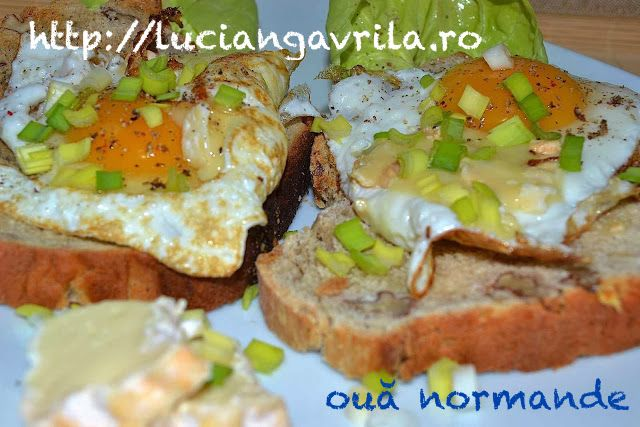 Normandy Eggs Ouă normande #breakfast #brunch