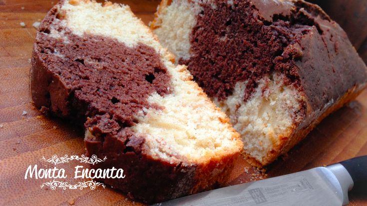 Um clássico! Bolo de Coco com chocolate.  Quem é que não se lembra dele?  Bolo simples e macio, com a textura esponjosa, sabor de chocolate intenso com coco ao mesmo tempo, junto e misturado,  um escândalo de gostoso.   Lembra bolinho comprado pronto, só que mil vezes mais gostoso.http://www.montaencanta.com.br/bolo-2/bolo-de-coco-com-chocolate/