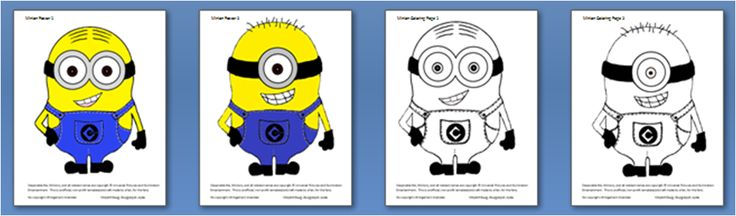 Free Minion Themed Party Printables