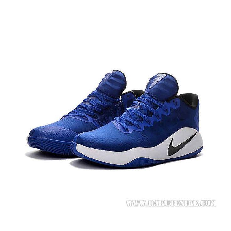 2016SS新作Nike Hyperdunk 2016 Low ナイキ ハイパーダンク ロー ホワイト×ブルー メンズ バスケットシューズ バッシュ