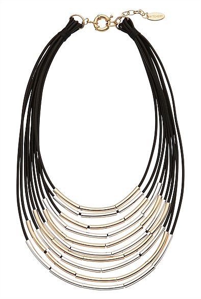 Multi Cord Necklace