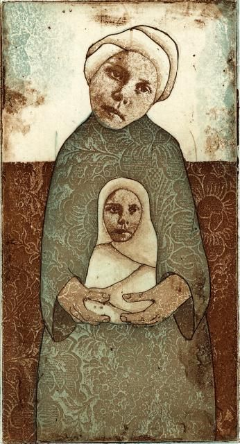 Piia Lehti: Aarre / Treasure, etching, 2005