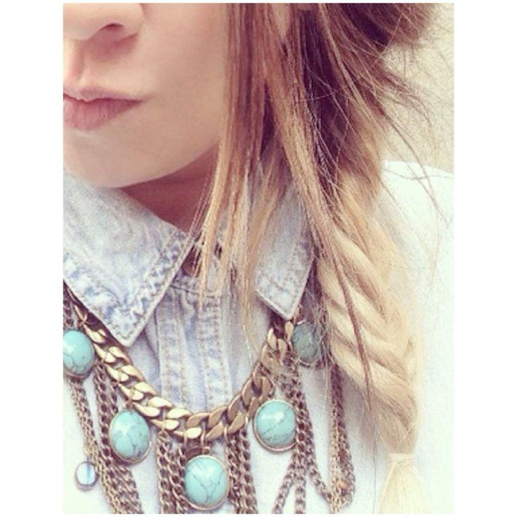 Fish tale braid Ombre hair http://instagram.com/p/wRLVCqAGS_/