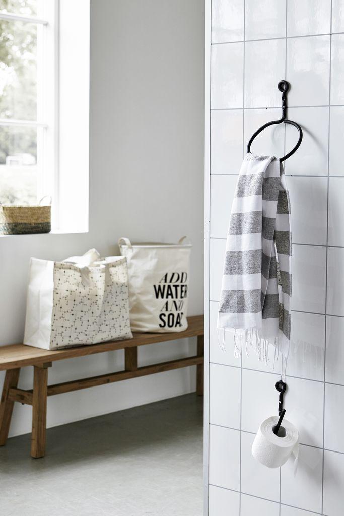 Držák na toaletní papír Black | Nordic Day
