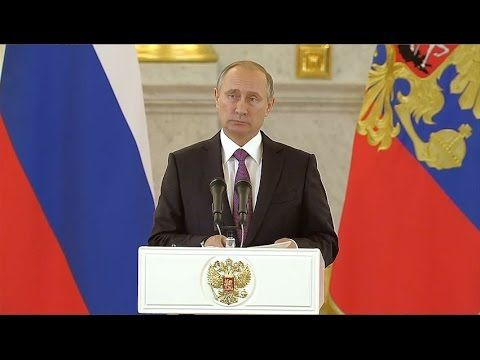 BREAKING: Putin says Russia now 'ready and willing' to restore full relations with the USA - YouTube