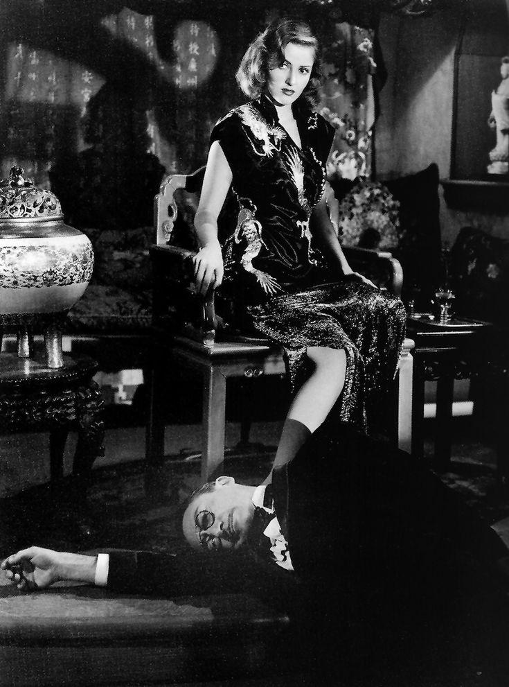 "Martha Vickers and Theodore Von Eltz in ""The Big Sleep"" (Howard Hawks, 1946)"